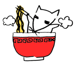 Cat sometimes Fox. sticker #287954