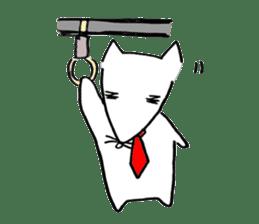 Cat sometimes Fox. sticker #287957