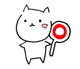 Cat sometimes Fox. sticker #287959