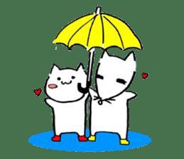 Cat sometimes Fox. sticker #287966