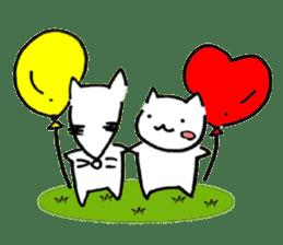 Cat sometimes Fox. sticker #287967