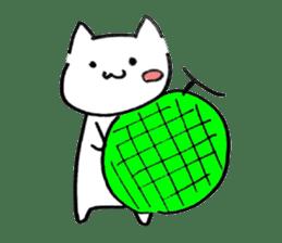 Cat sometimes Fox. sticker #287980