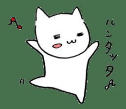 Cat sometimes Fox. sticker #287981