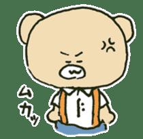 Angry bear sticker #288707