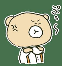 Angry bear sticker #288708