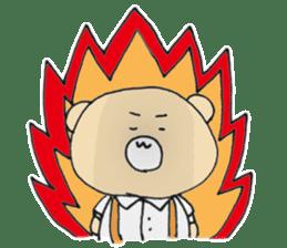 Angry bear sticker #288712