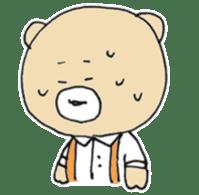 Angry bear sticker #288718