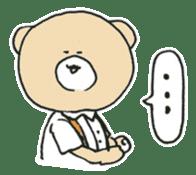 Angry bear sticker #288720