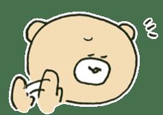 Angry bear sticker #288724