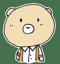 Angry bear sticker #288737