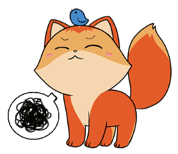Foxmosa sticker #289007