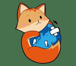 Foxmosa sticker #289009