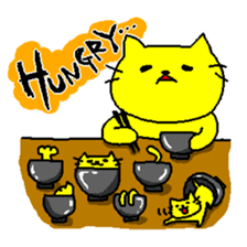 THE YELLOW CAT -Japan Tour- sticker #289027