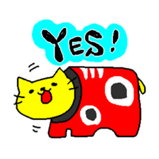 THE YELLOW CAT -Japan Tour- sticker #289031