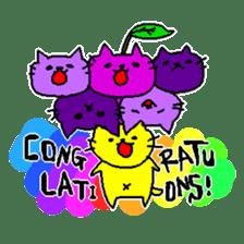 THE YELLOW CAT -Japan Tour- sticker #289041