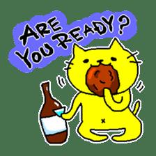 THE YELLOW CAT -Japan Tour- sticker #289063