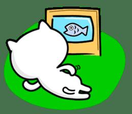 Lazybones Tomcat Doodling Diary sticker #290025