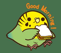 Miss Lovebird-Cute Bird in Valentine sticker #290591