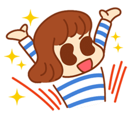 peanuts NATSUMI's everyday sticker #292027