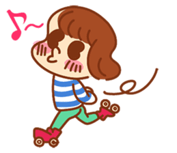 peanuts NATSUMI's everyday sticker #292032