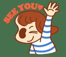 peanuts NATSUMI's everyday sticker #292050