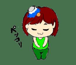 green sunnpuu sticker #292543