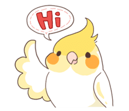 Chirping Bird sticker #292785