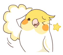 Chirping Bird sticker #292786