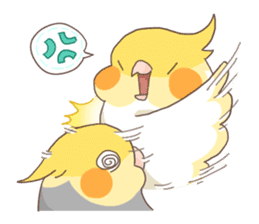Chirping Bird sticker #292793