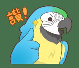 Chirping Bird sticker #292816