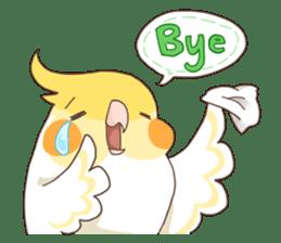 Chirping Bird sticker #292823