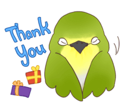 Chirping Bird sticker #292824