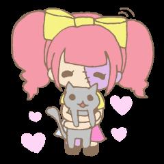 Zombiena and Kuro.