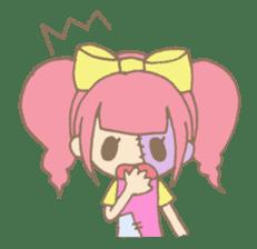 Zombiena and Kuro. sticker #292826