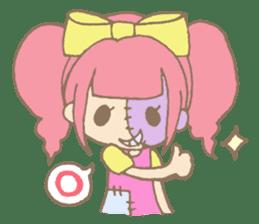 Zombiena and Kuro. sticker #292838