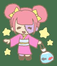 Zombiena and Kuro. sticker #292853