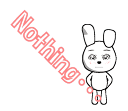 The rabbit which is full of expressions8 sticker #294279