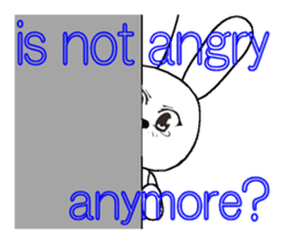 The rabbit which is full of expressions8 sticker #294290