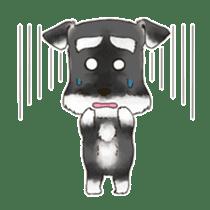 "Miniature Schnauzer ""MOMO"" sticker #294428"