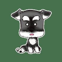 "Miniature Schnauzer ""MOMO"" sticker #294444"