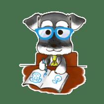 "Miniature Schnauzer ""MOMO"" sticker #294457"