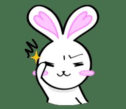 Big rabbit of the ear/Life.ver sticker #294506