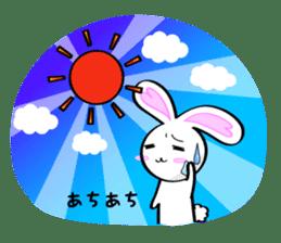 Big rabbit of the ear/Life.ver sticker #294520