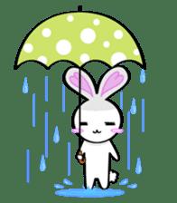 Big rabbit of the ear/Life.ver sticker #294521