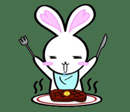 Big rabbit of the ear/Life.ver sticker #294525