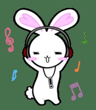 Big rabbit of the ear/Life.ver sticker #294529