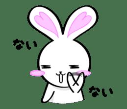 Big rabbit of the ear/Life.ver sticker #294538