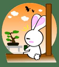 Big rabbit of the ear/Life.ver sticker #294542