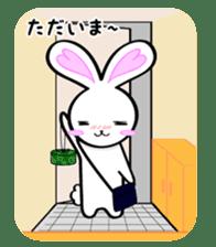 Big rabbit of the ear/Life.ver sticker #294543