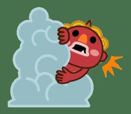 God of thunder! sticker #296829